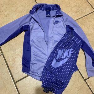 Nike girl tracksuit